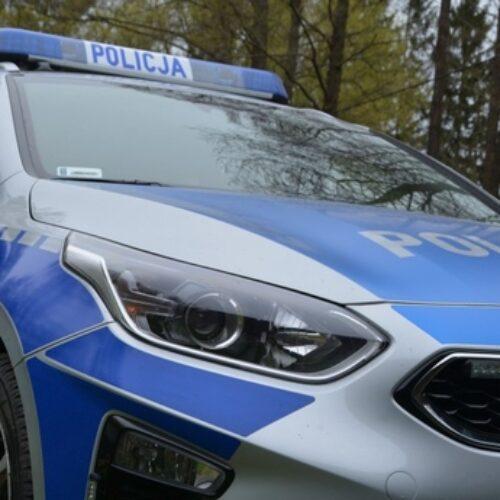 Leszczyńscy policjanci eskortowali do szpitala samochód z poważnie rannym dzieckiem